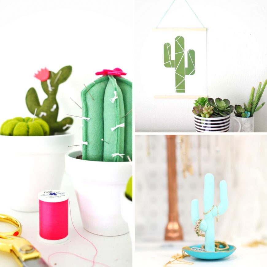 20 Easy & Beautiful Cactus-Inspired Projects