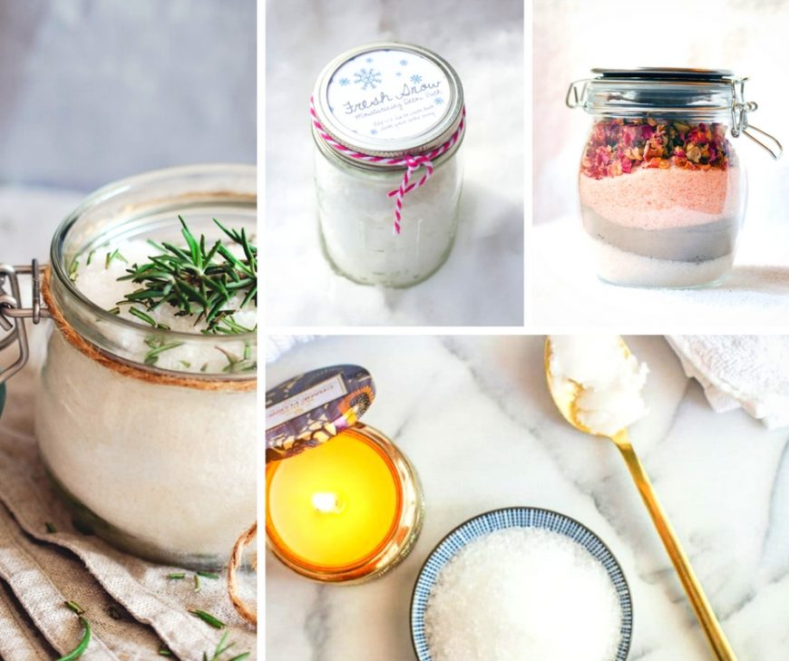 20 relaxing DIY bath soaks that are the perfect addition to bathtime. Even better you know exactly what is in them and they are inexpensive and make the perfect homemade gifts.