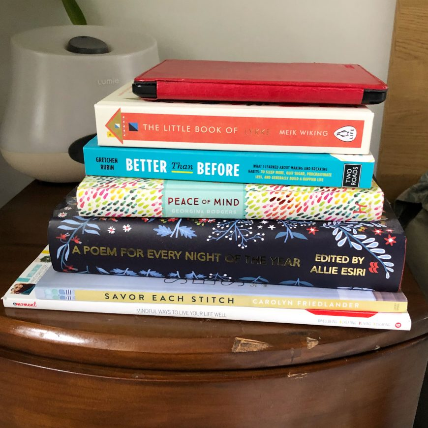 Books on the Bedside - January 2018