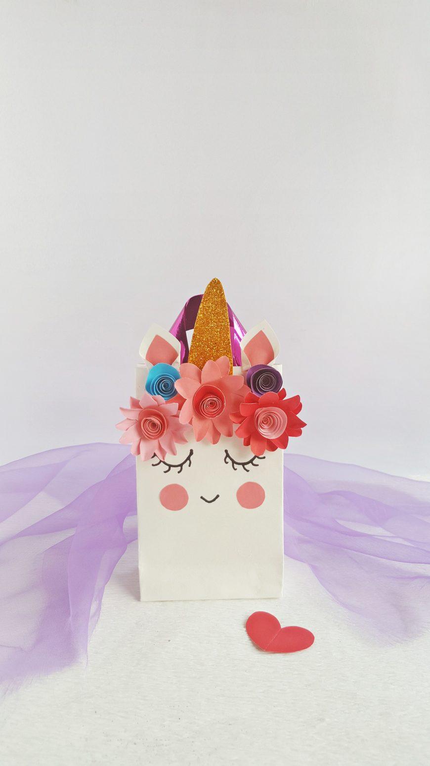 DIY Unicorn Gift Bags