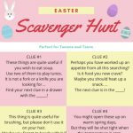 Easter Egg Hunts for Teenagers