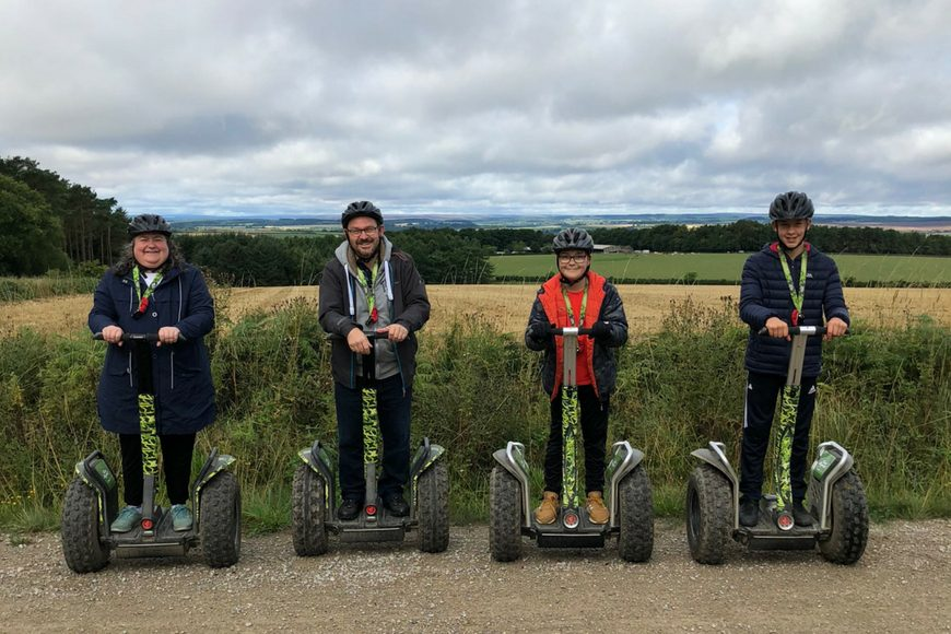 Go Ape at Dalby, North Yorkshire
