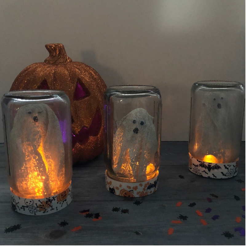How to make captured ghosts in a jar