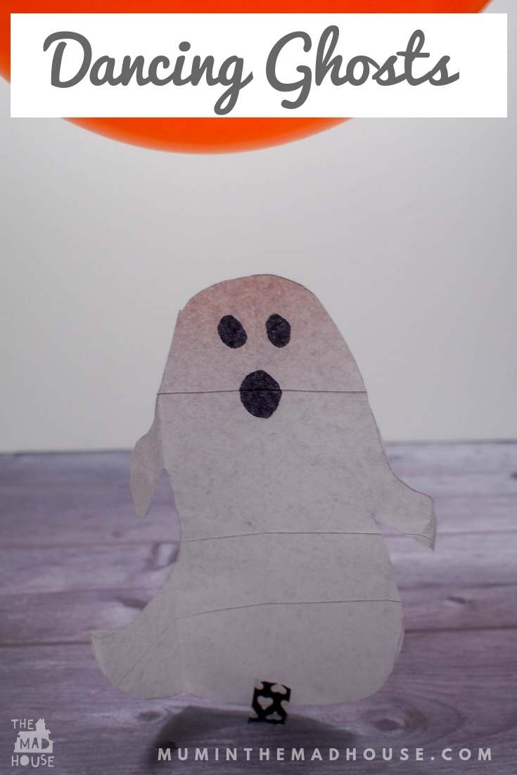 Get making this Halloween with these Ghastly Ghosts and Bats. Make Tissue Paper ghosts and bats move and dance without touching them