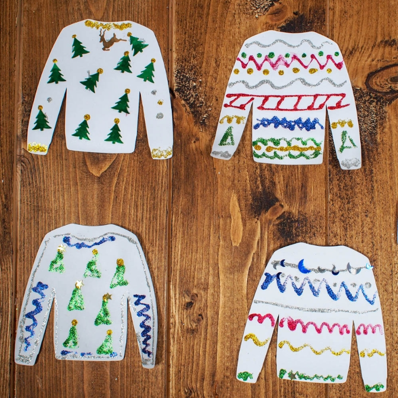Design your own Christmas Ugly Sweater – with Printables