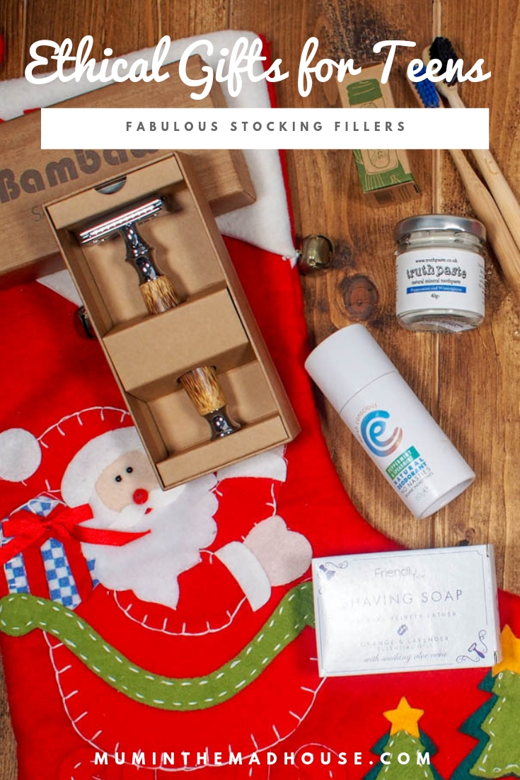 have got together with &Keep and my boys' to bring you this Ethical gift guide for teens. These are not gifts that will be forgotten about once the festive season is over.
