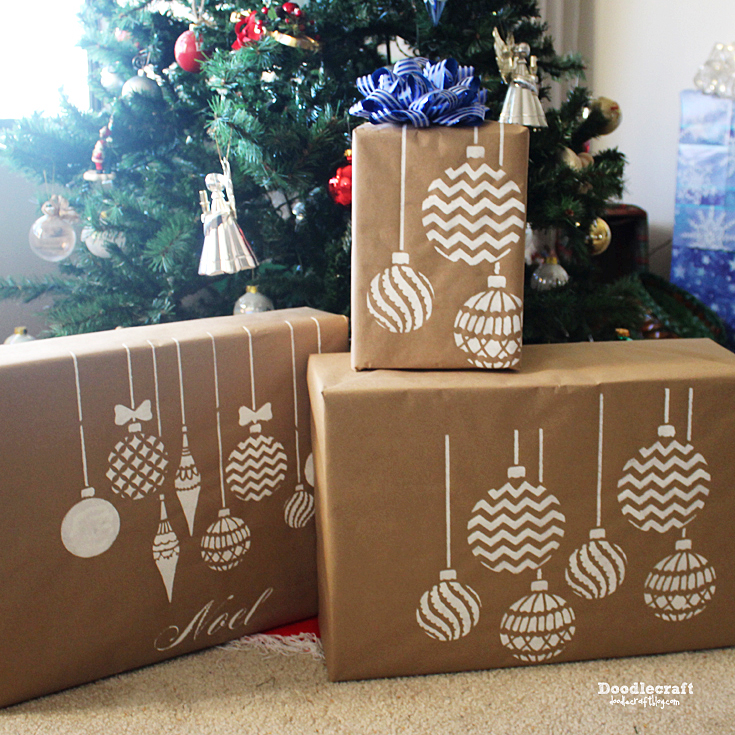 25 Beautiful Brown Paper Christmas Wrapping Ideas Mum In