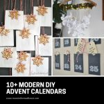 DIY Modern Advent Calendars you will want to make