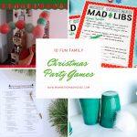 10 Fun Family Christmas Party Games