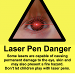 How Parents protect their Children from Laser Pointers - Lasers are not Toys