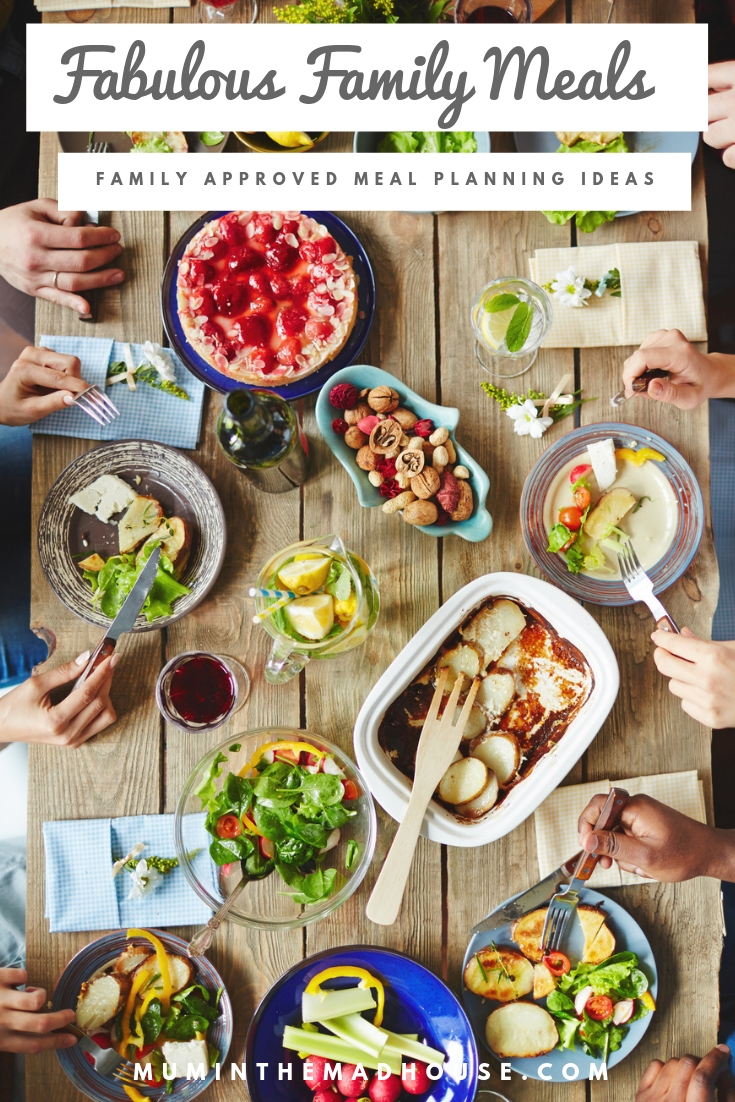 Fabulous Family Meal planning Ideas