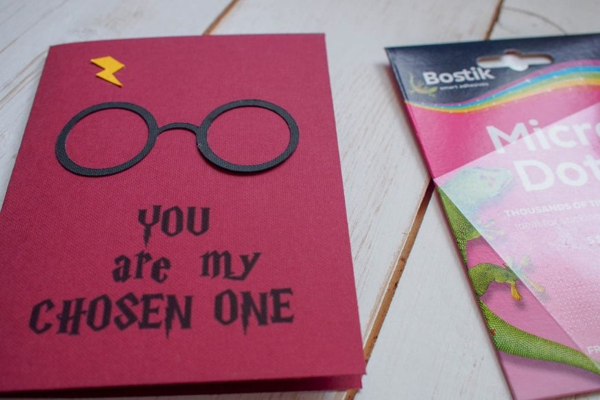 picture relating to Harry Potter Glasses Printable titled Cost-free Printable Harry Potter Valentines Card - Mum Within The