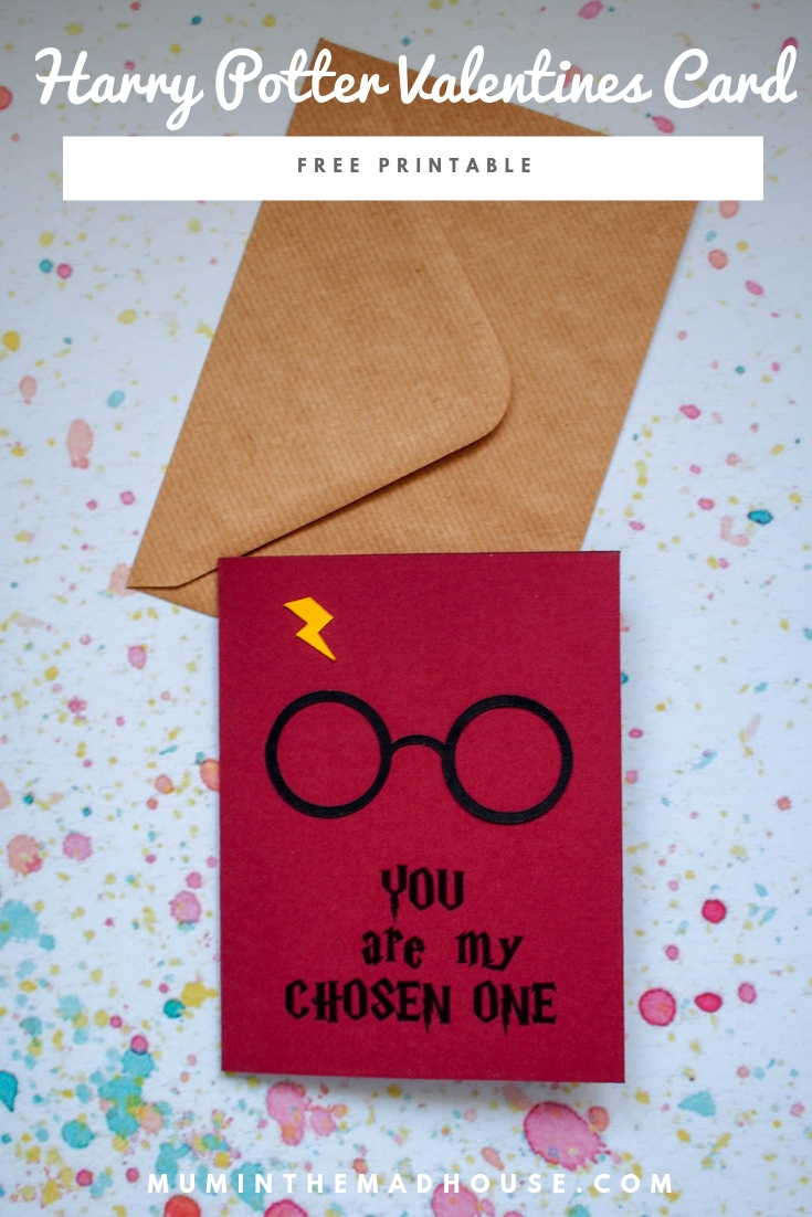Show them how much you love them with our fab free  printable Harry Potter card - a real touch of magic. Make it a magical valentines day with this fantastic free printable Harry Potter valentines card.