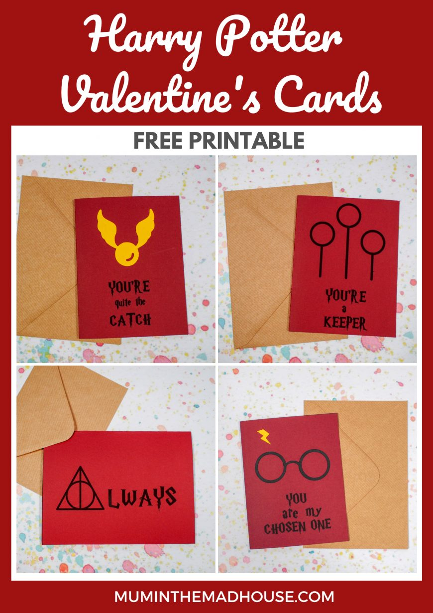 Celebrate Valentine's Day with style using Printable Harry Potter Valentine Cards! Send your loved one a magical Harry Potter card.