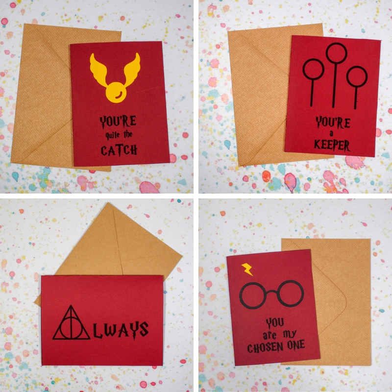 Celebrate Valentines Day With Style Using Printable Harry Potter Valentine Cards Send Your Loved One