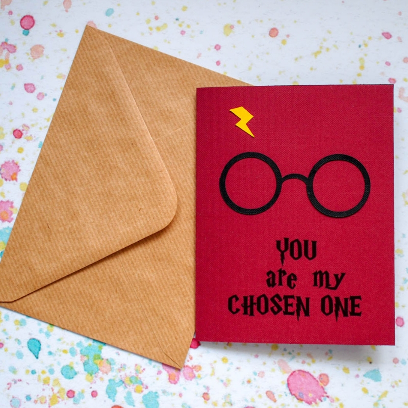 photo relating to Harry Potter Glasses Printable named Free of charge Printable Harry Potter Valentines Card - Mum In just The