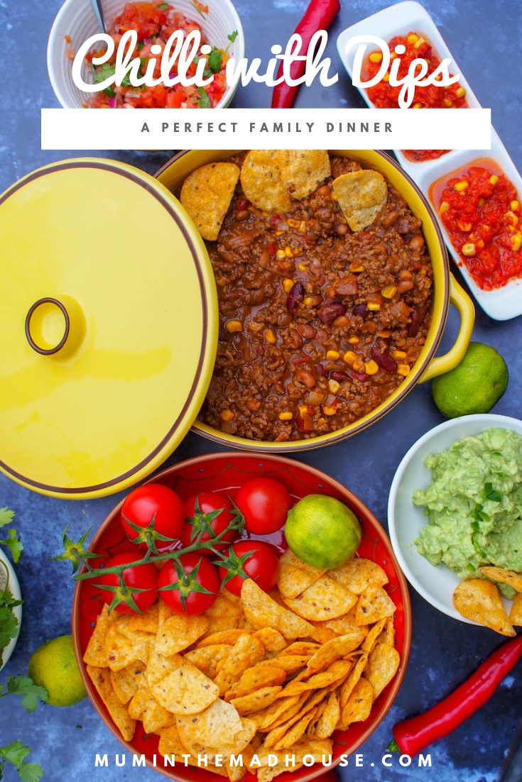 tch cook this chilli and freeze half for when you are short for time. Serve with our fabulous dips and sides that you can make in advance for amazing family dinner.