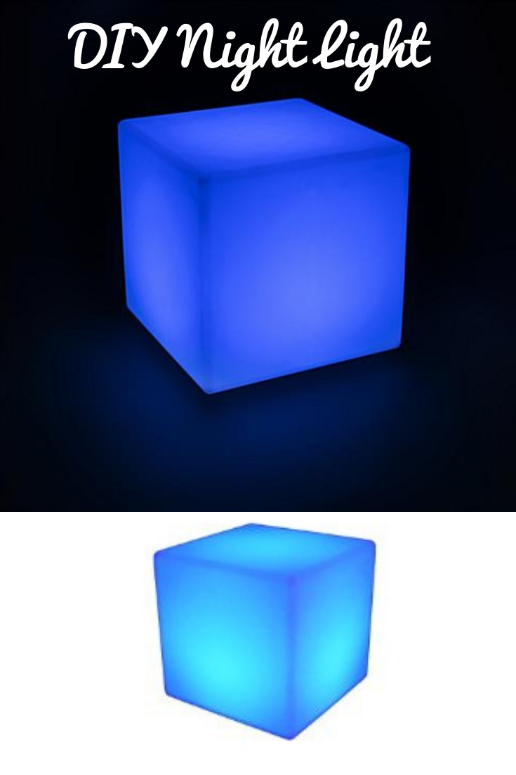 How to make a Cube Shaped Children's Night Light