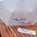 DIY Customised Umbrella using iron-on vinyl