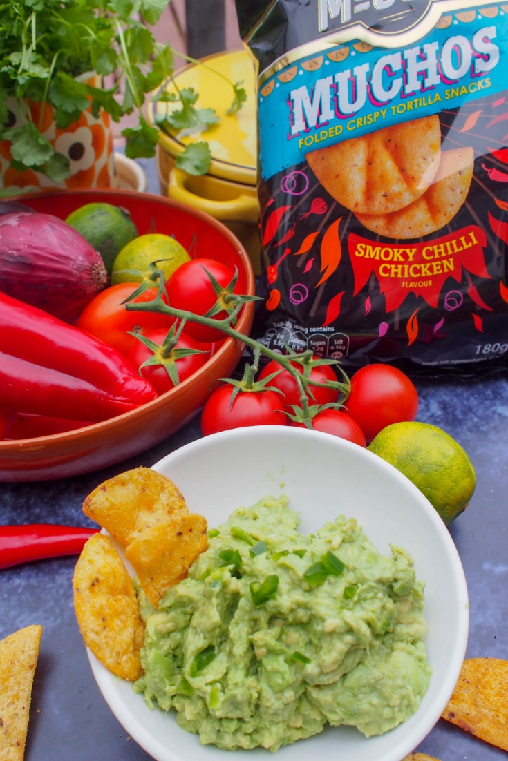 Family Friendly Guacamole - This quick and easy kid-friendly guacamole recipe is mild & delicious with no hot chillies!