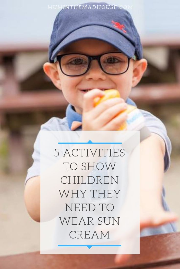 5 activities to show children why they need to wae sun scream. I love things that create independence in kids and allows them to look after themselves. Solar Buddies easy, mess-free and independent way of applying suncream.