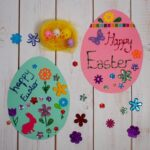 Invitation to Create and Decorate Paper Easter Eggs