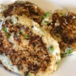 Cod and Pea Fritters or Fishcakes