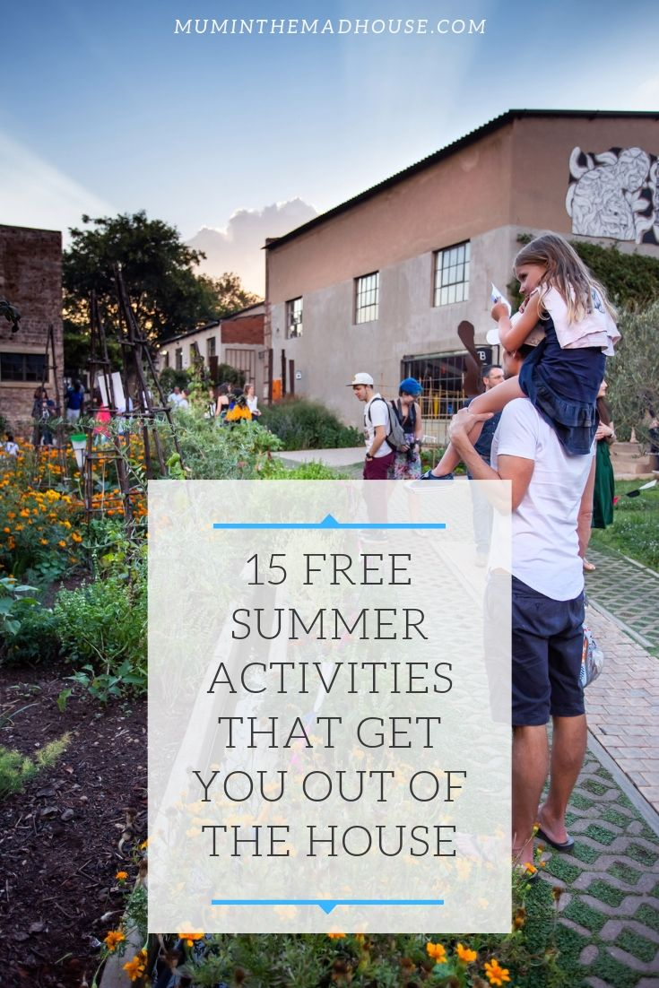 Cool 15 Free Summer Activities That Get You Out Of The House Download Free Architecture Designs Rallybritishbridgeorg