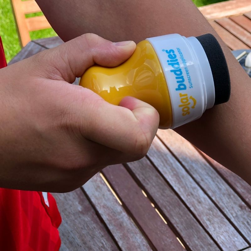 love things that create independence in kids and allows them to look after themselves. Solar Buddies easy, mess-free and independent way of applying suncream.