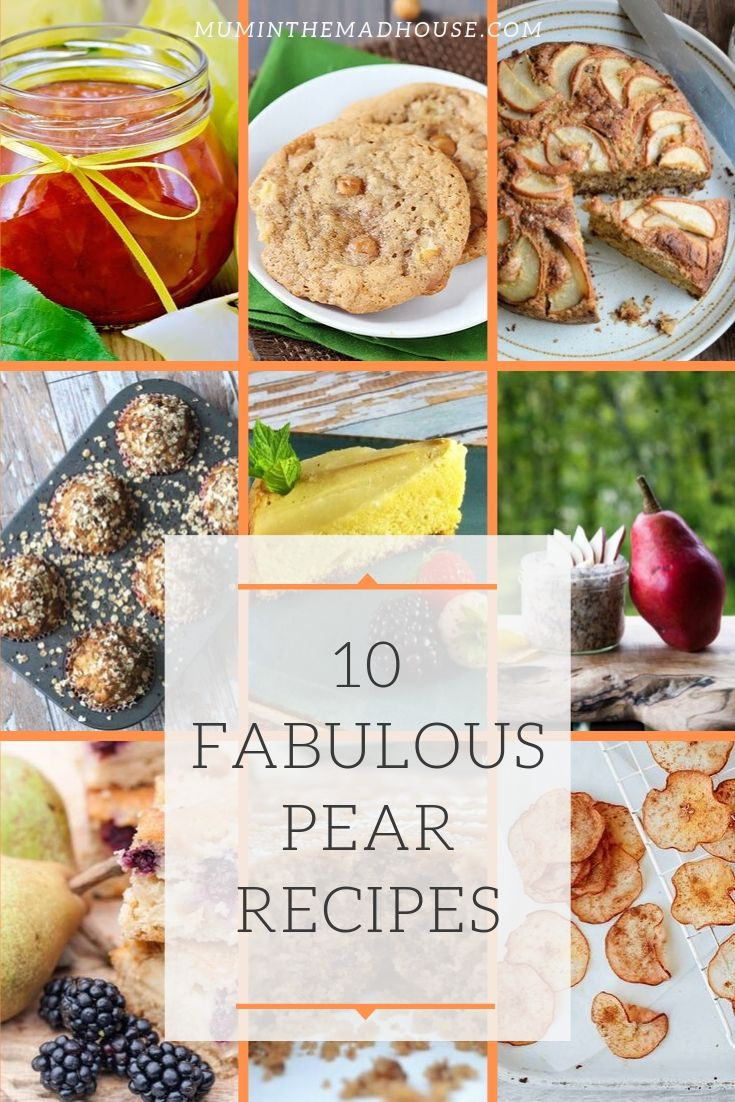 Fabulous Pear recipes. Scroll through for all the pear recipes you'll need, including pear pancakes and spiced pear breakfast muffins.