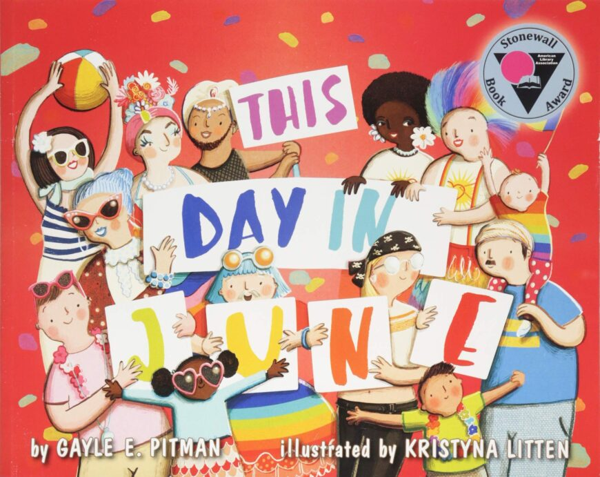 LGBTQ-friendly books for Young Children This Day on June