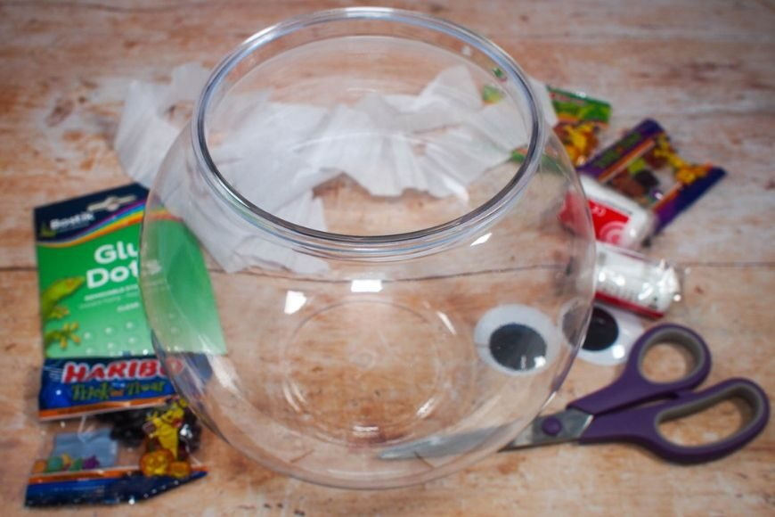 Halloween Bowl Materials
