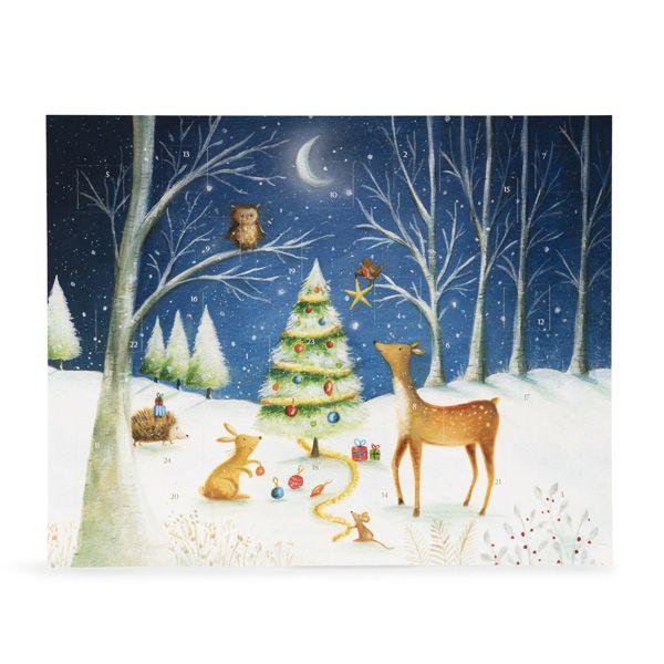 National Trust Woodland Animals Paper Advent Calendar