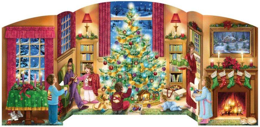 Free Standing Advent Calendar