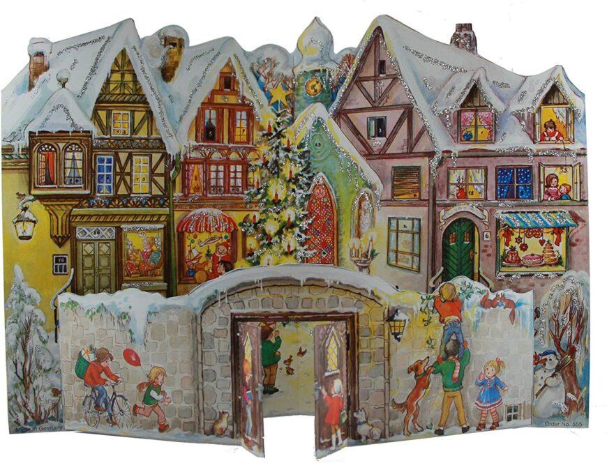 Sellmer Town Wall Advent Calendar