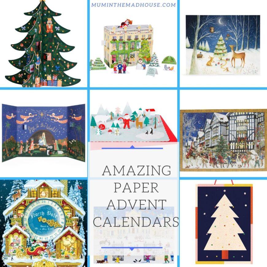 Amazing Paper Advent Calendars