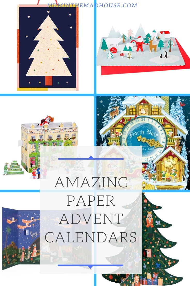 Opt for a traditional Advent Calendar this year and bring back childhood memories with our roundup of Amazing Paper Advent Calendars