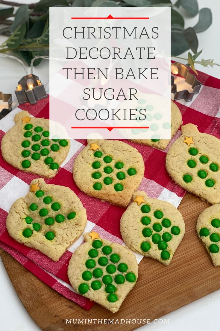 Christmas Baking With The Family: Our Favourite Sugar Cookies Recipe. Have a fun festive baking day with our families failsafe sugar cookies recipe.