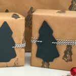 DIY Recyclable Christmas Gift Wrap