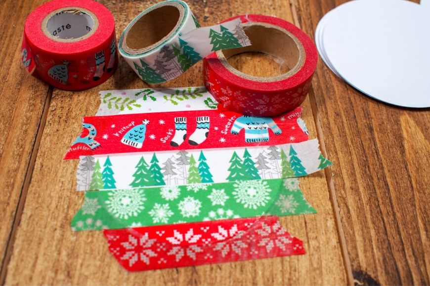 Front of washi Tape bauable