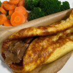 Yorkshire Pudding Wraps - A great way to use up leftovers