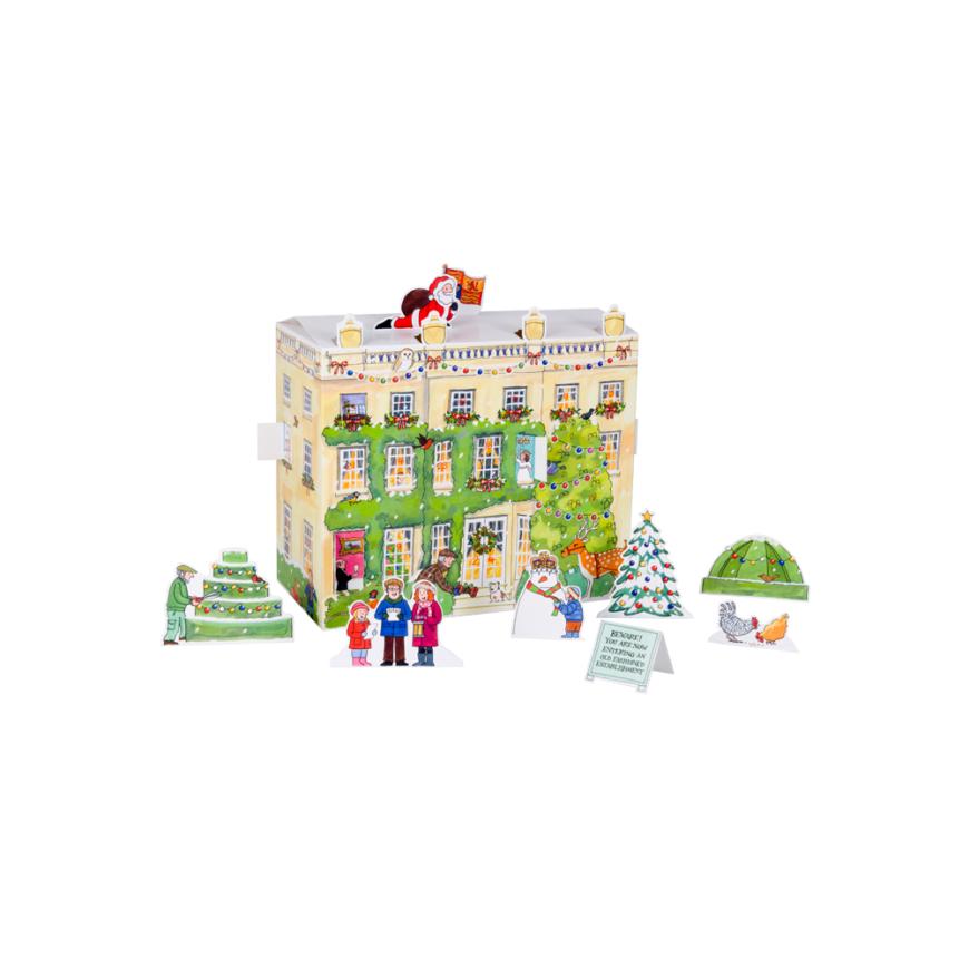 Highgrove House 3D Paper Advent Calendar