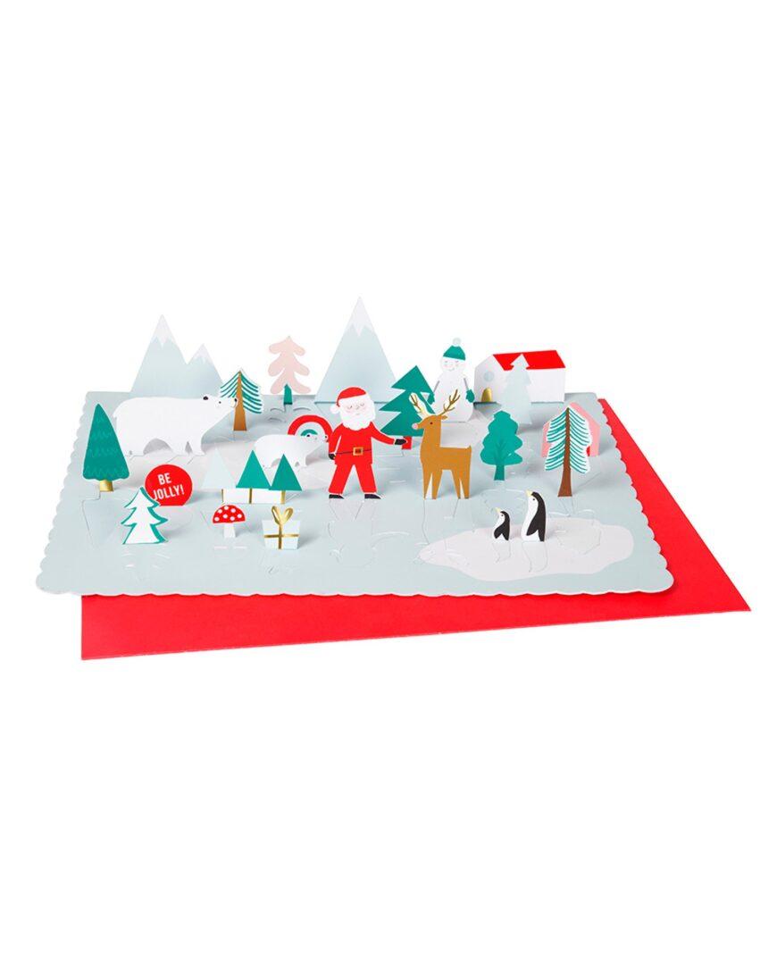 Meri Meri Paper Pop-up Santa Advent Calendar
