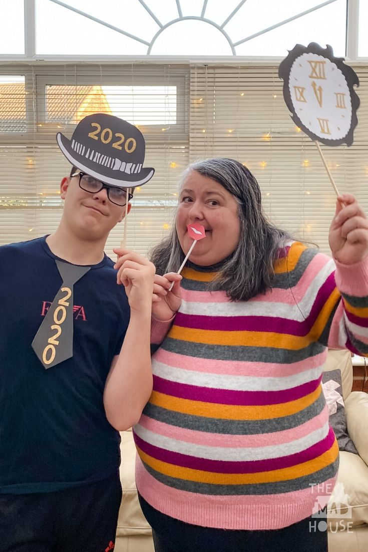 Celebrate the New Year with our fab free New Years Eve Party Photo Booth Props printables. Downloadable New Year's Party Decor perfect for get-togethers.