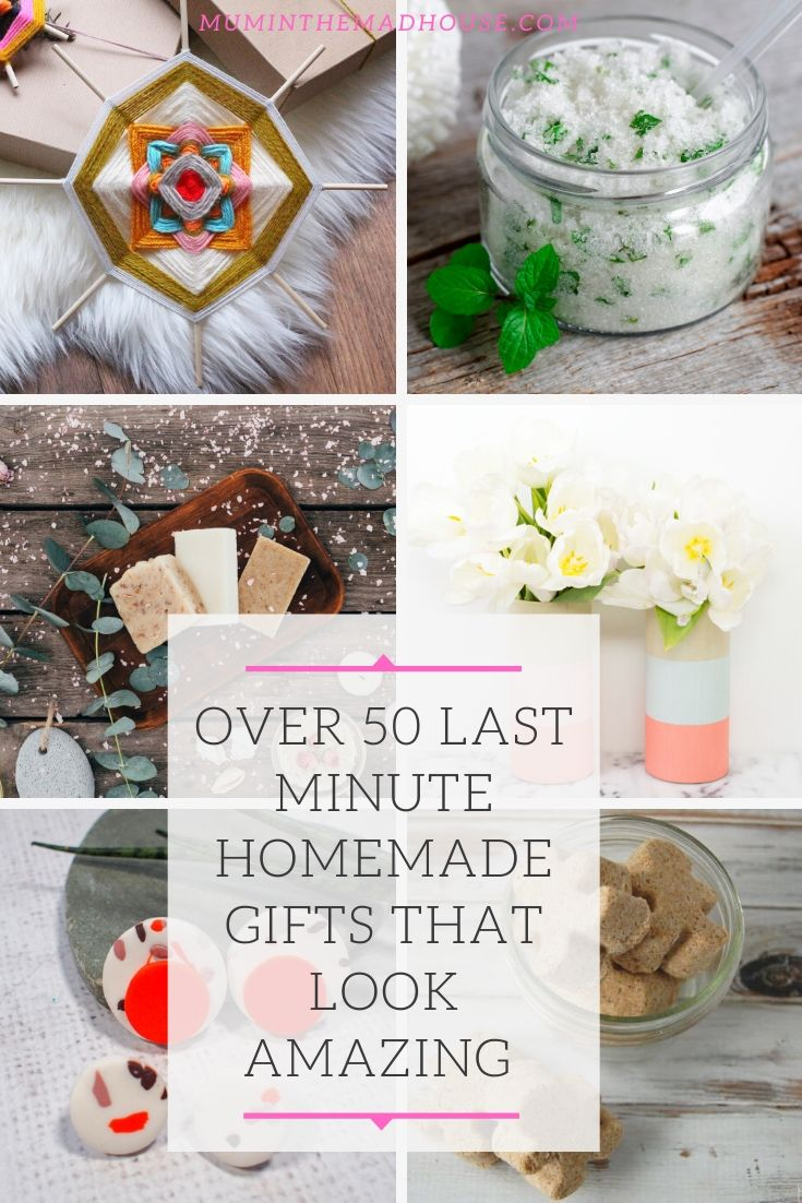 Over 50 Last-minute homemade gifts that look amazing and anyone will love perfect for Christmas