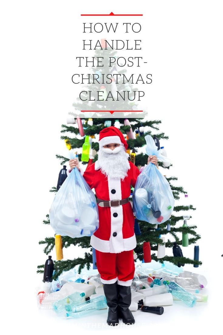 Tips for helping you deal with the post Christmas cleanup in the most sustainable way positible.  We help you do your bit for the environment whilst doing your post-Christmas clean up
