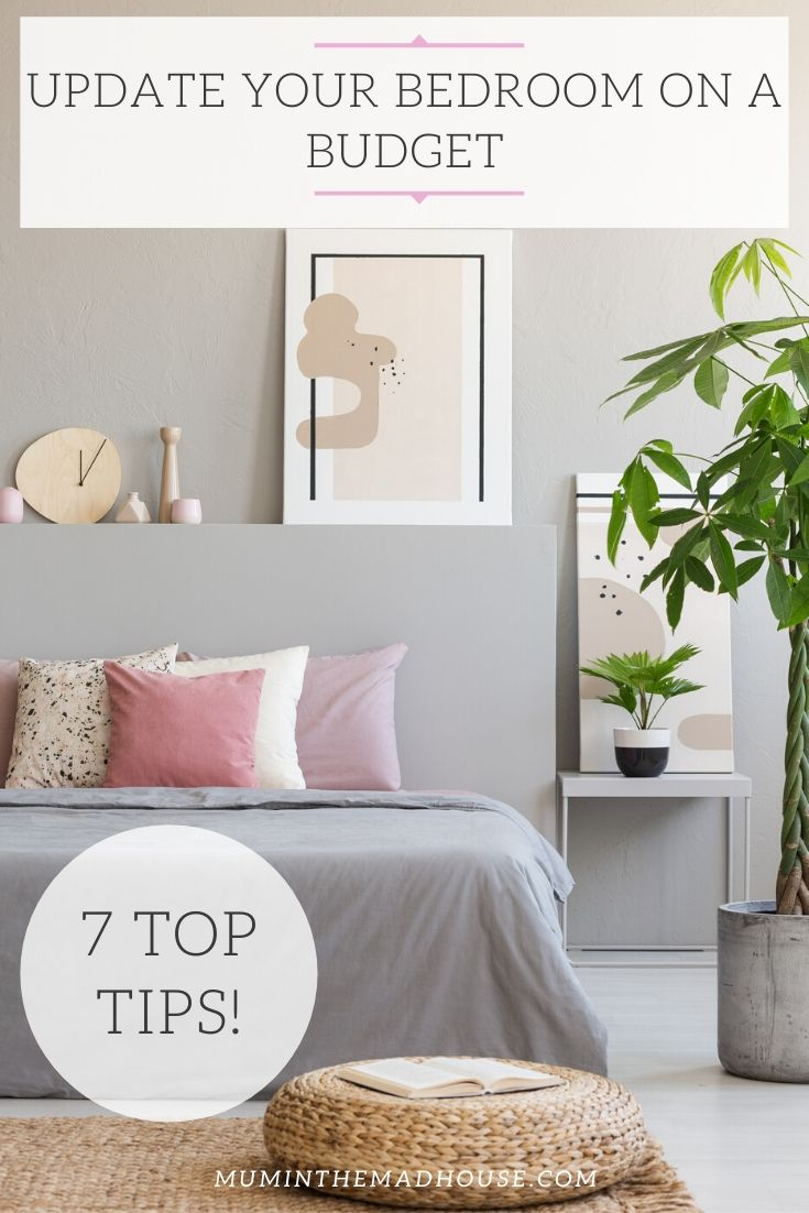 Update your bedroom on a budget