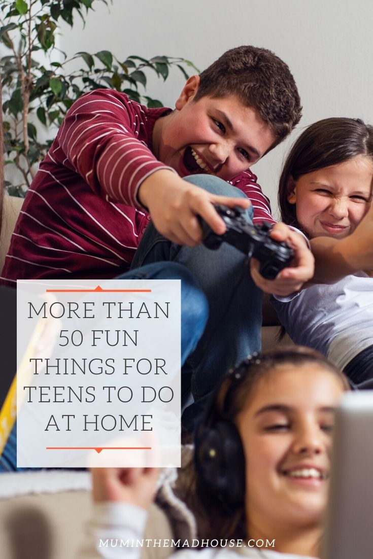 How do you encourage teenagers not to spend all of their spare time on their phones or video game?  Well, we have collected some activities for teens perfect for while school is on break