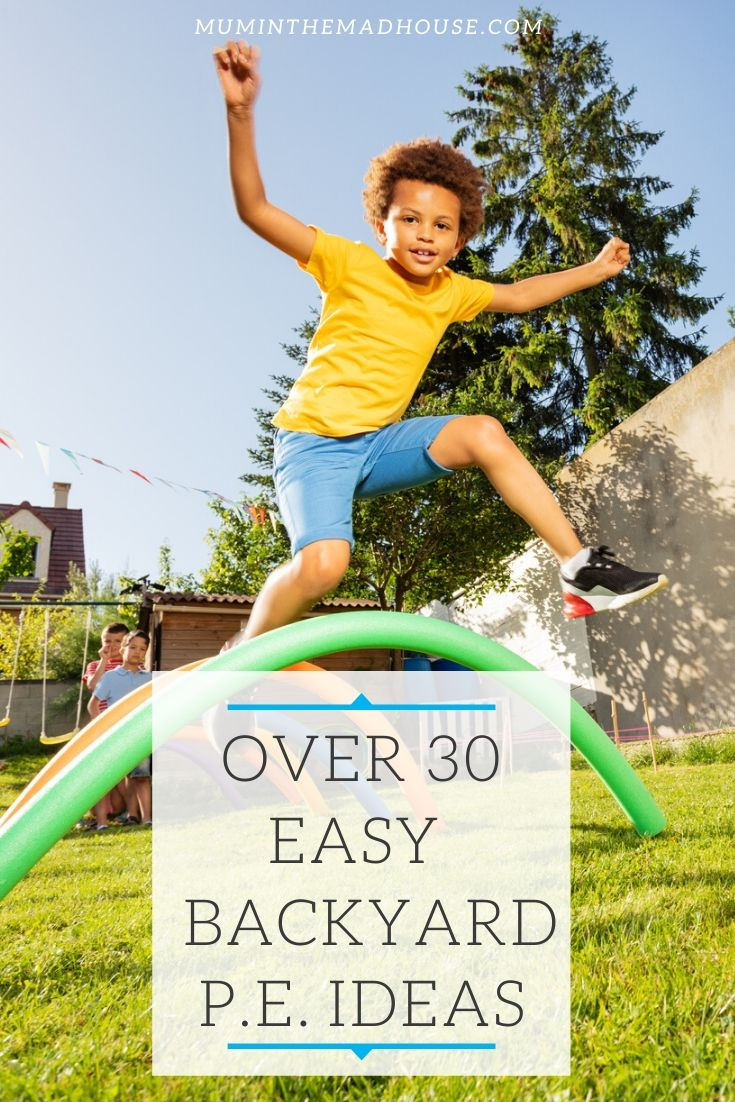 We are currently living in unprecedented times and with the UK in virtual lockdown having a garden or a backyard is an amazing resource and we are going to find it playing outside a vital part of our day to day lives.  So here are some fabulous way to get the kids exercising in the garden or backyard and fun ways to keep kids active in the garden.