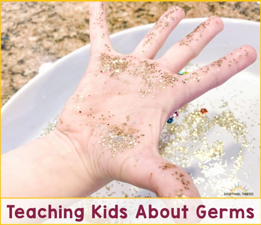 Get kids washing their hands with this simple activity